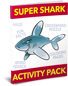 Super Shark Activity Pack (SPECIAL)