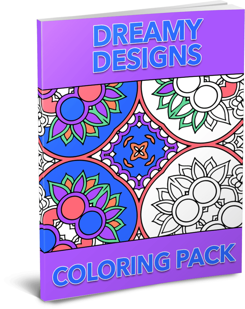 Dreamy Designs Coloring Pack
