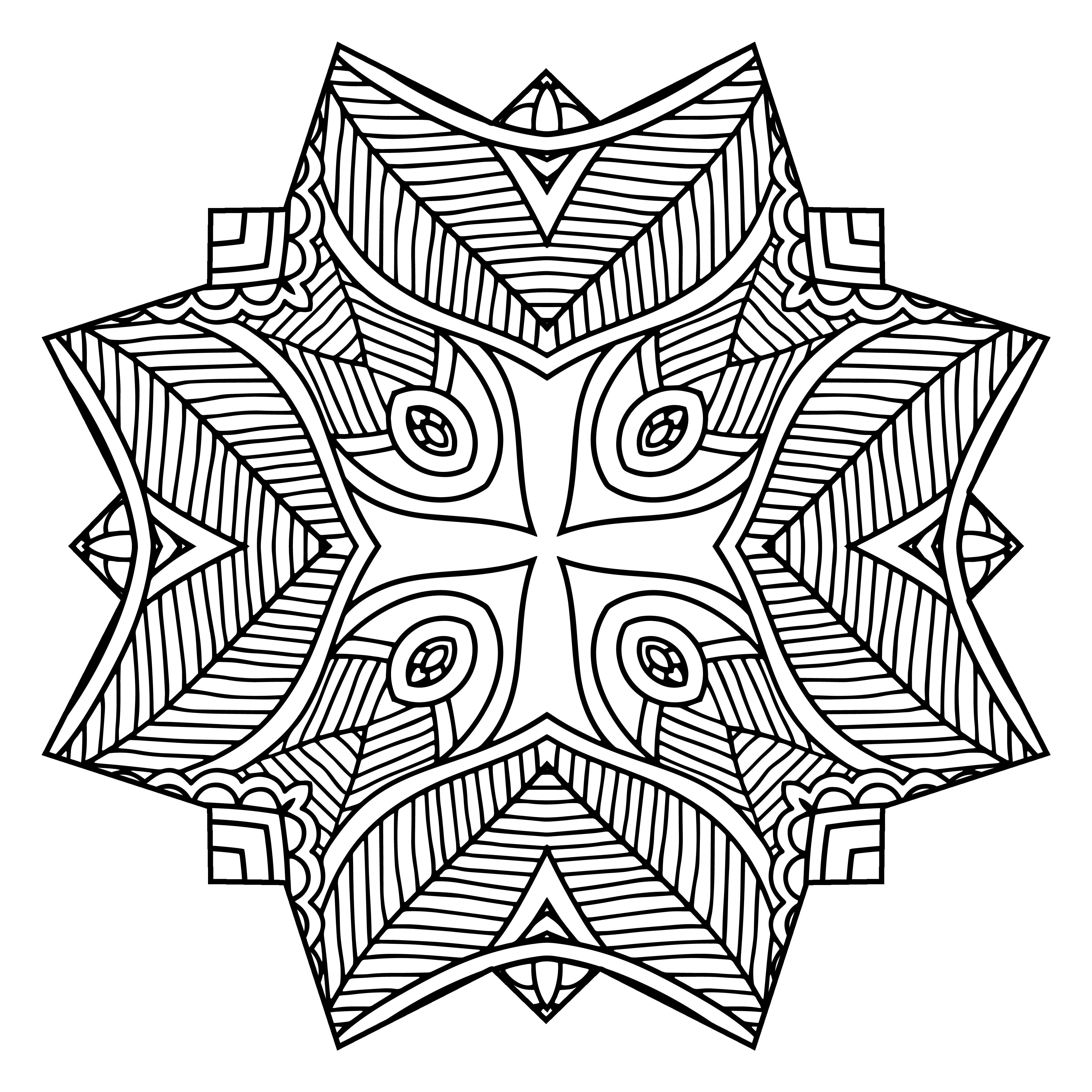 Spun Square Design
