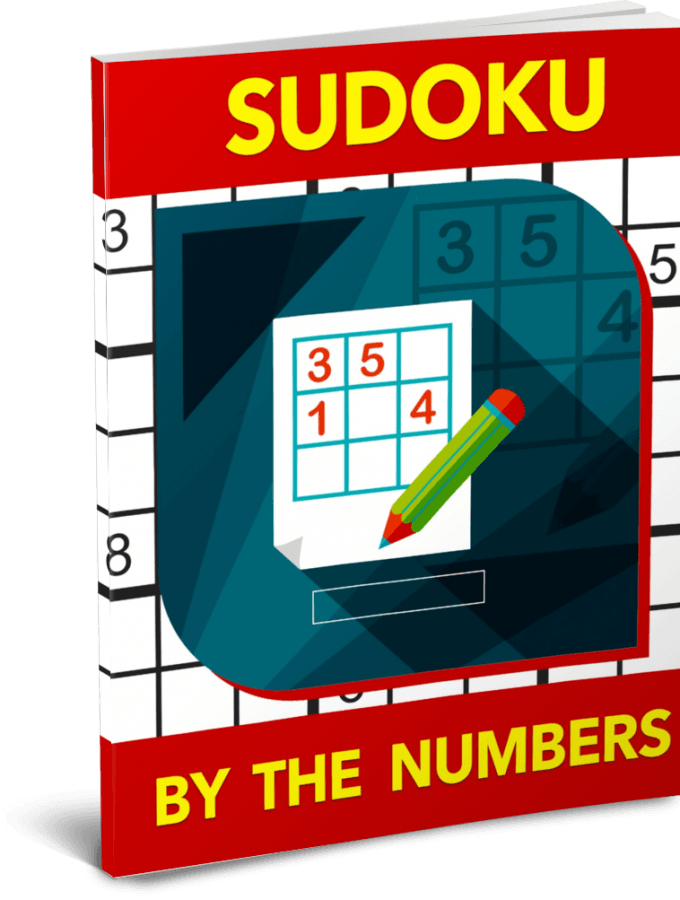 Sudoku By the Numbers Puzzle Pack