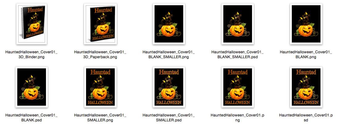 Haunted Halloween Cover – Option 1