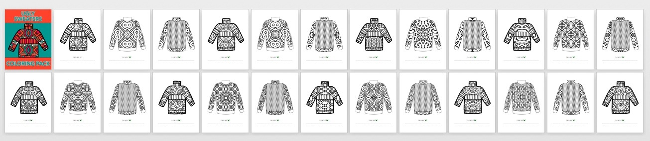 Ugly Sweaters Book Preview