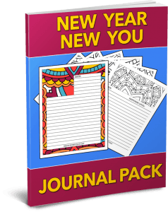 New Year New You Journal Pack – SAMPLE