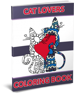 Cat Lovers Coloring Pack by Shawn Hansen
