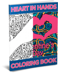 Heart in Hands Coloring Pack