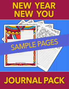 New Year New You Journals - SAMPLE by Shawn Hansen